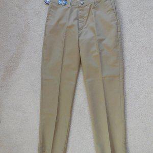 Men's LEE Flat Front Khaki Relaxed Fit 33W x 32L